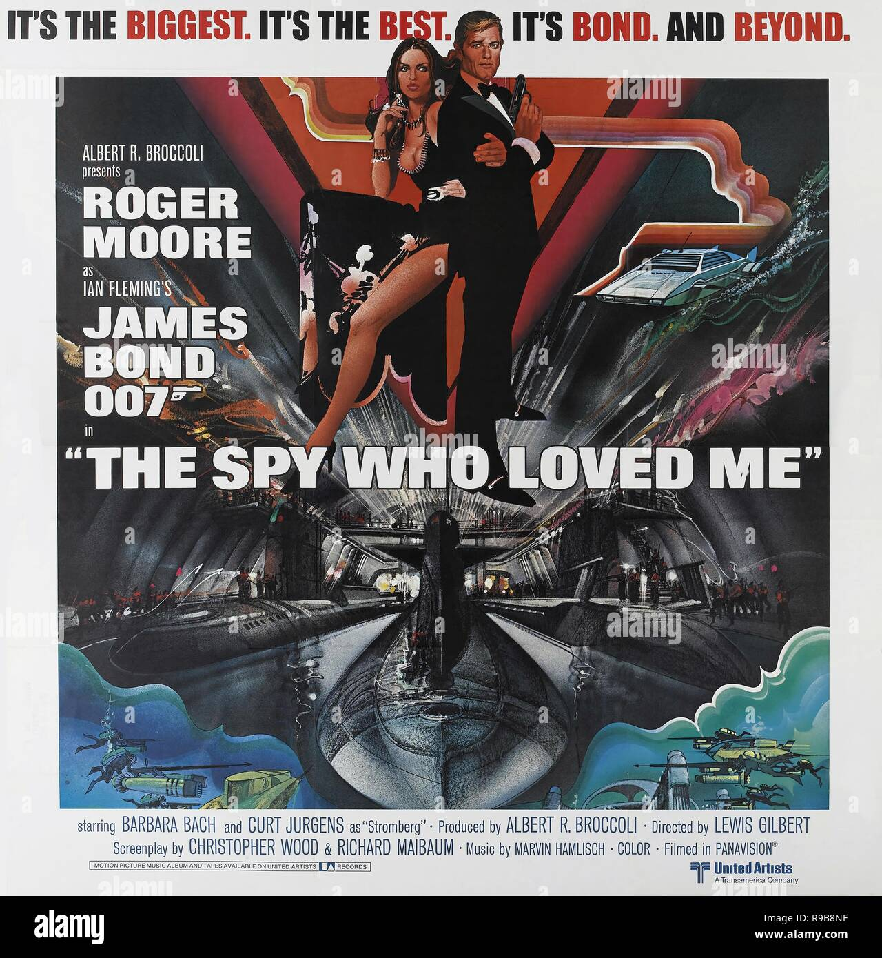Original film title: THE SPY WHO LOVED ME. English title: 007, JAMES BOND: SPY WHO LOVED ME, THE. Year: 1977. Director: LEWIS GILBERT. Credit: EON PRODUCTIONS / Album - Stock Image
