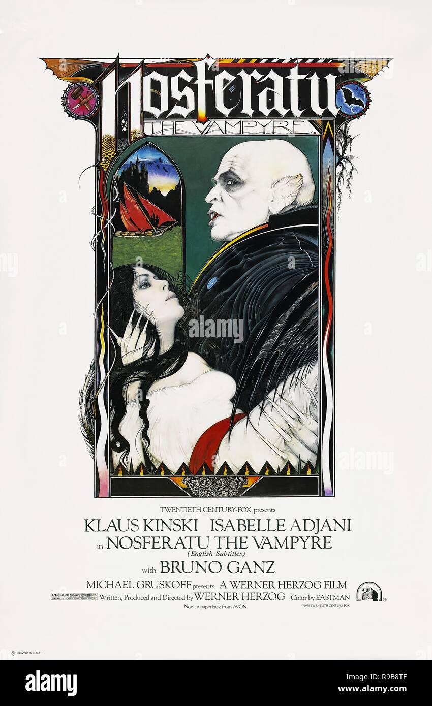 Original film title: NOSFERATU: PHANTOM DER NACHT. English title: NOSFERATU THE VAMPYRE. Year: 1979. Director: WERNER HERZOG. Credit: WERNER HERZOG FILMPRODUKTION / Album Stock Photo