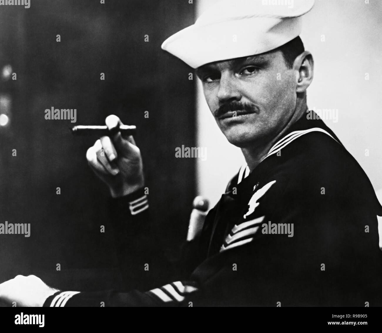 Original film title: THE LAST DETAIL. English title: THE LAST DETAIL. Year: 1973. Director: HAL ASHBY. Stars: JACK NICHOLSON. Credit: COLUMBIA PICTURES / Album - Stock Image