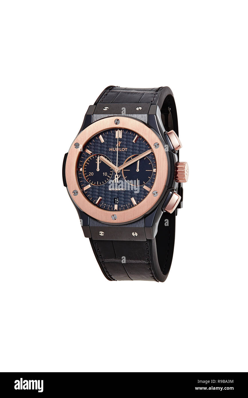 Hublot watch - Stock Image