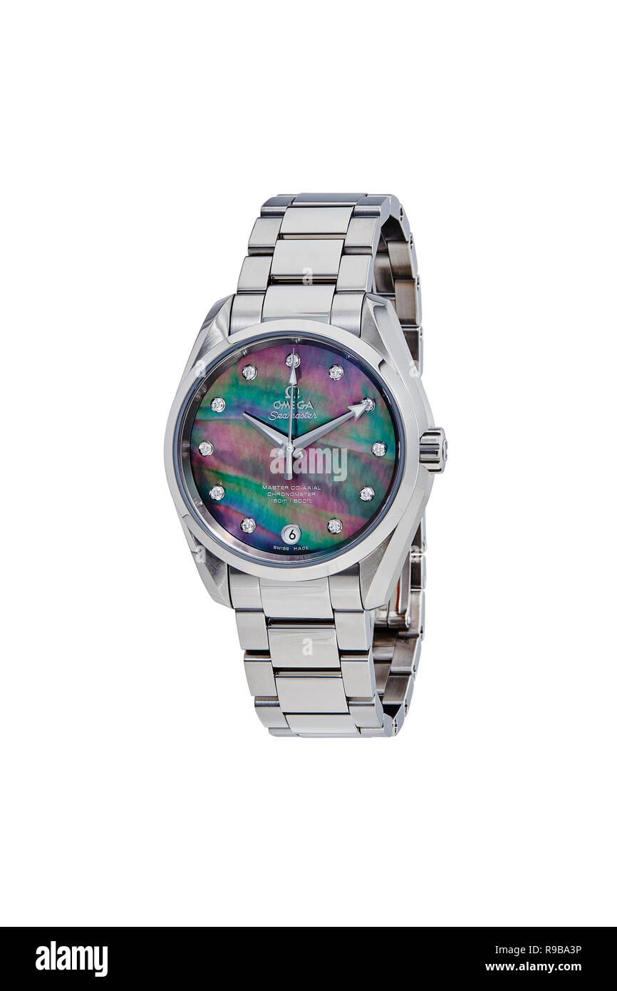 Omega watch - Stock Image