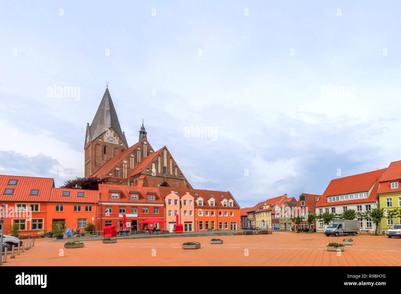 Barth, Island Ruegen, Germany - Stock Image