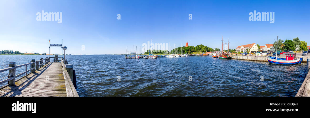 Marina, Island Poel, Germany - Stock Image