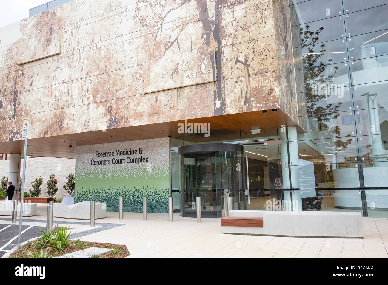 Forensic medicine and coroners court building in lidcombe Sydney, the complex was opened in December 2018,Sydney,Australia - Stock Image