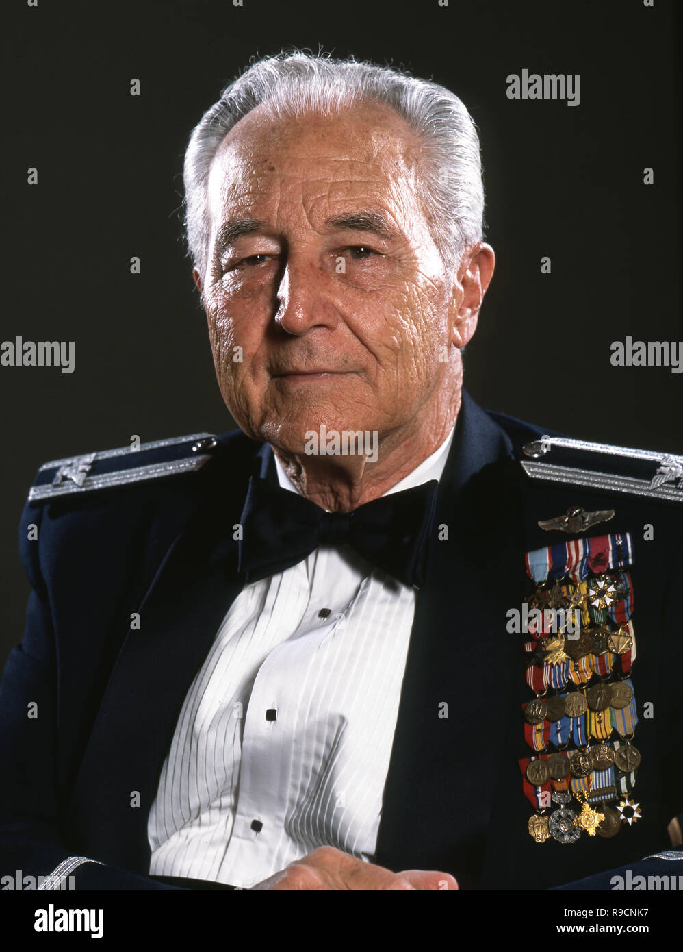 Colonel Ralph Parr, Korean War Double Ace - Stock Image