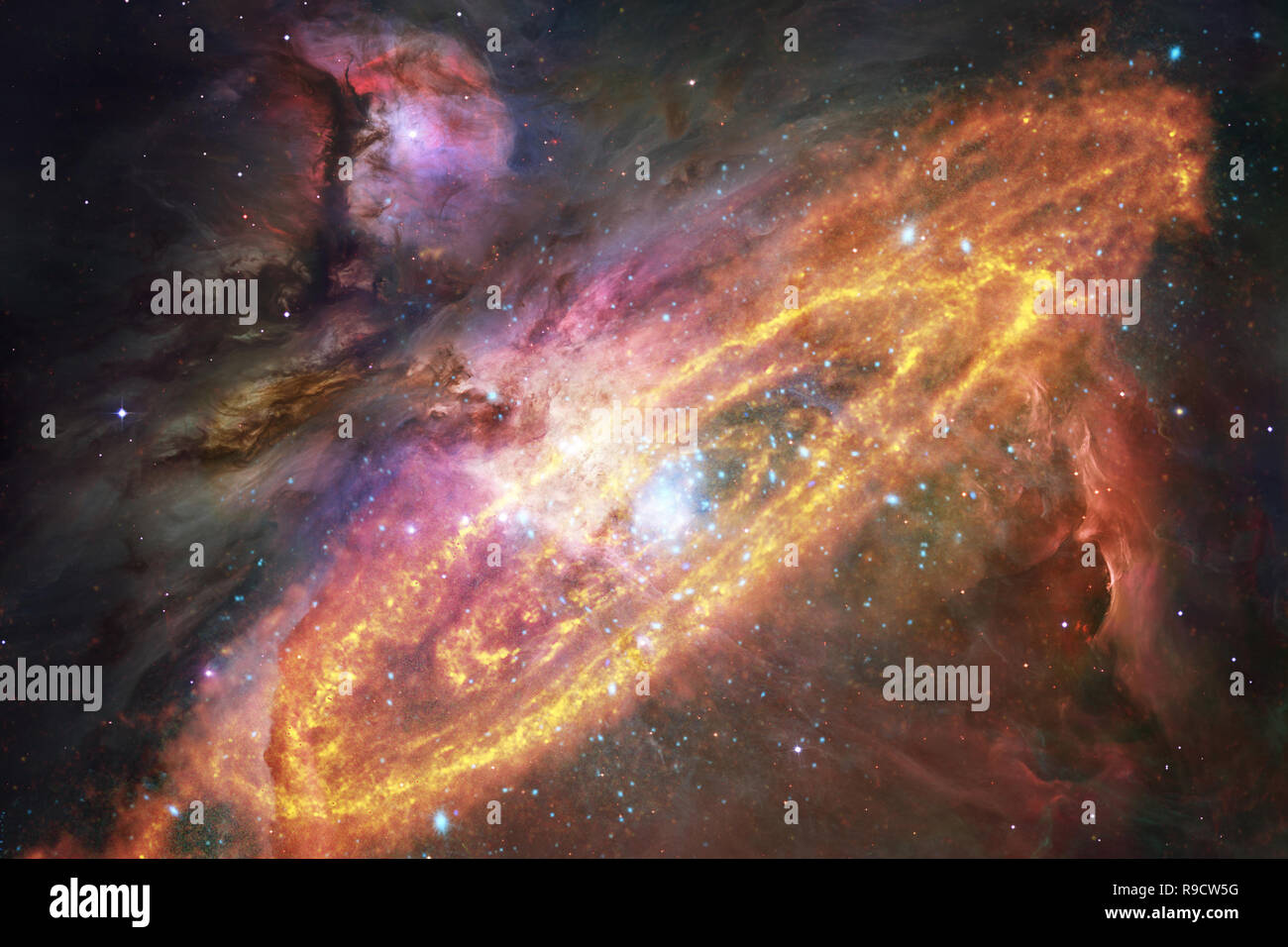 galaxies stars and nebulas in awesome space image colorful science fiction wallpaper elements of this image furnished by nasa R9CW5G