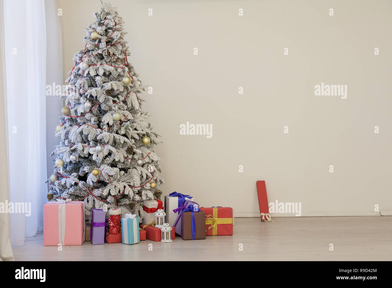 Christmas Tree Garland Lights New Year Gifts Holiday White House