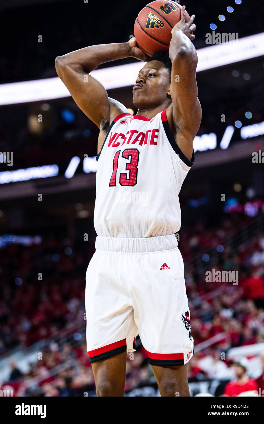 North Carolina State Wolfpack guard C J  Bryce (13) during