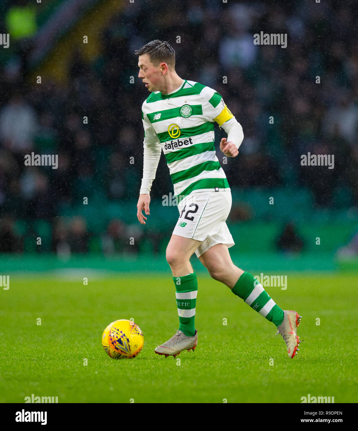 Celtic Park, Glasgow, UK. 22nd Dec, 2018. Ladbrokes Premiership football, Celtic versus Dundee; Callum McGregor of Celtic Credit: Action Plus Sports/Alamy Live News - Stock Image