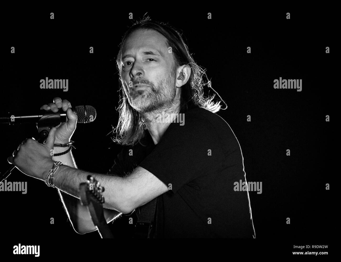 Las Vegas, NV, USA  22nd Dec, 2018  ***HOUSE COVERAGE*** Thom Yorke