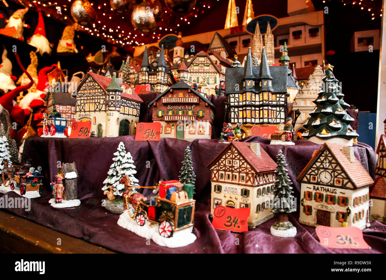 Christmas In Chicago 2018.Chicago Usa 22nd Dec 2018 German Made Miniature