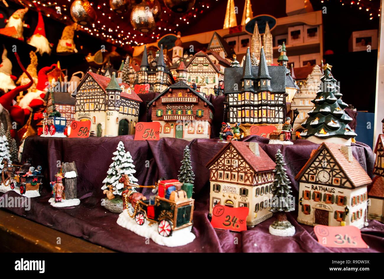 Chicago Christmas Market.Chicago Usa 22nd Dec 2018 German Made Miniature