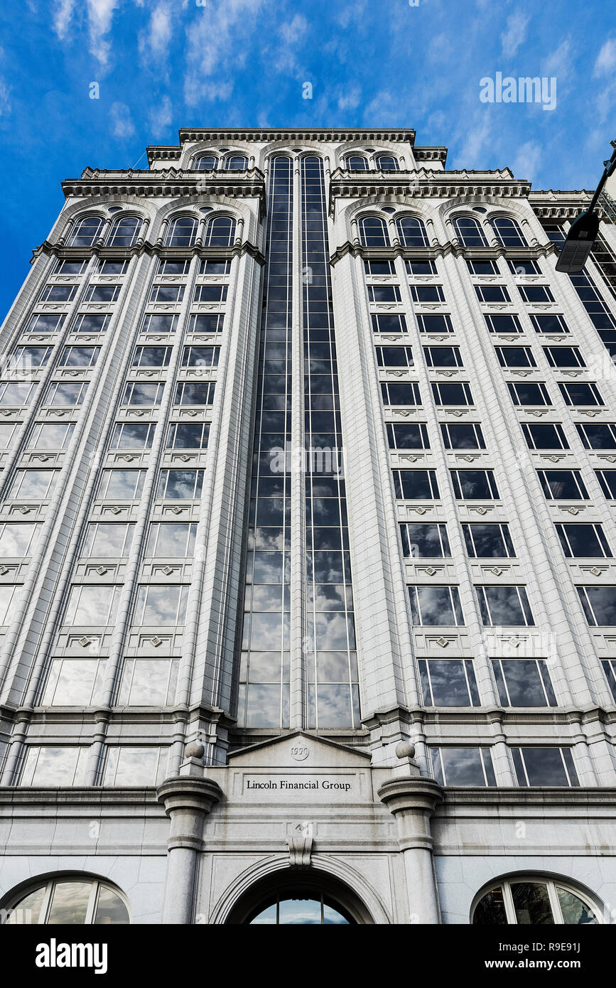 Lincoln Financial Group office building, Greensboro, North Carolina, USA. - Stock Image