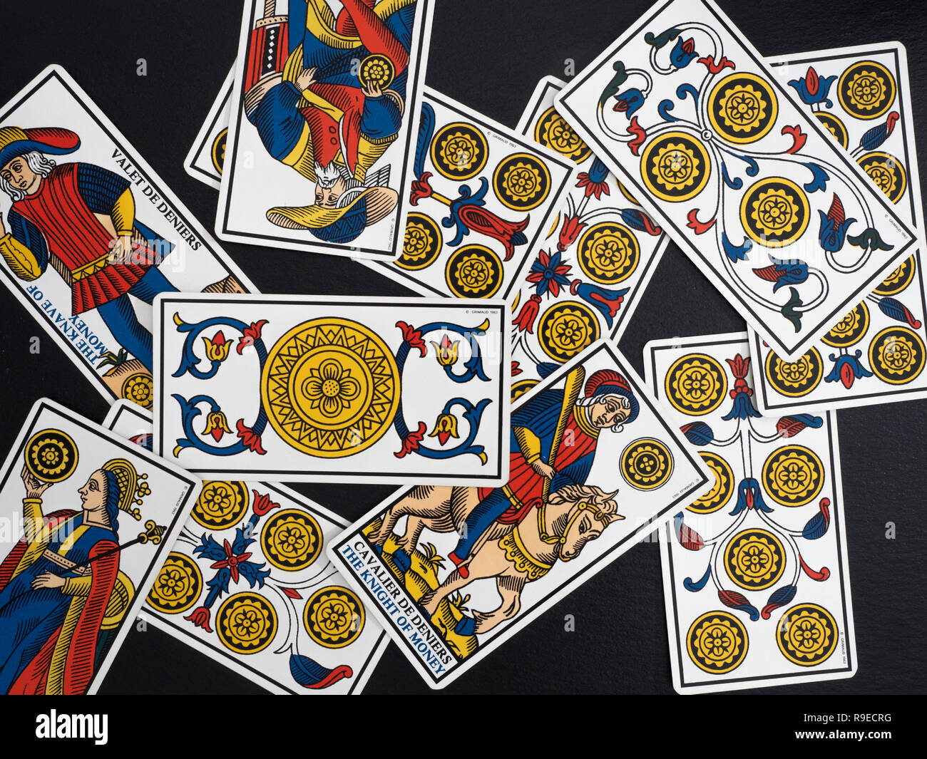 Tarot Card Knight Stock Photos & Tarot Card Knight Stock