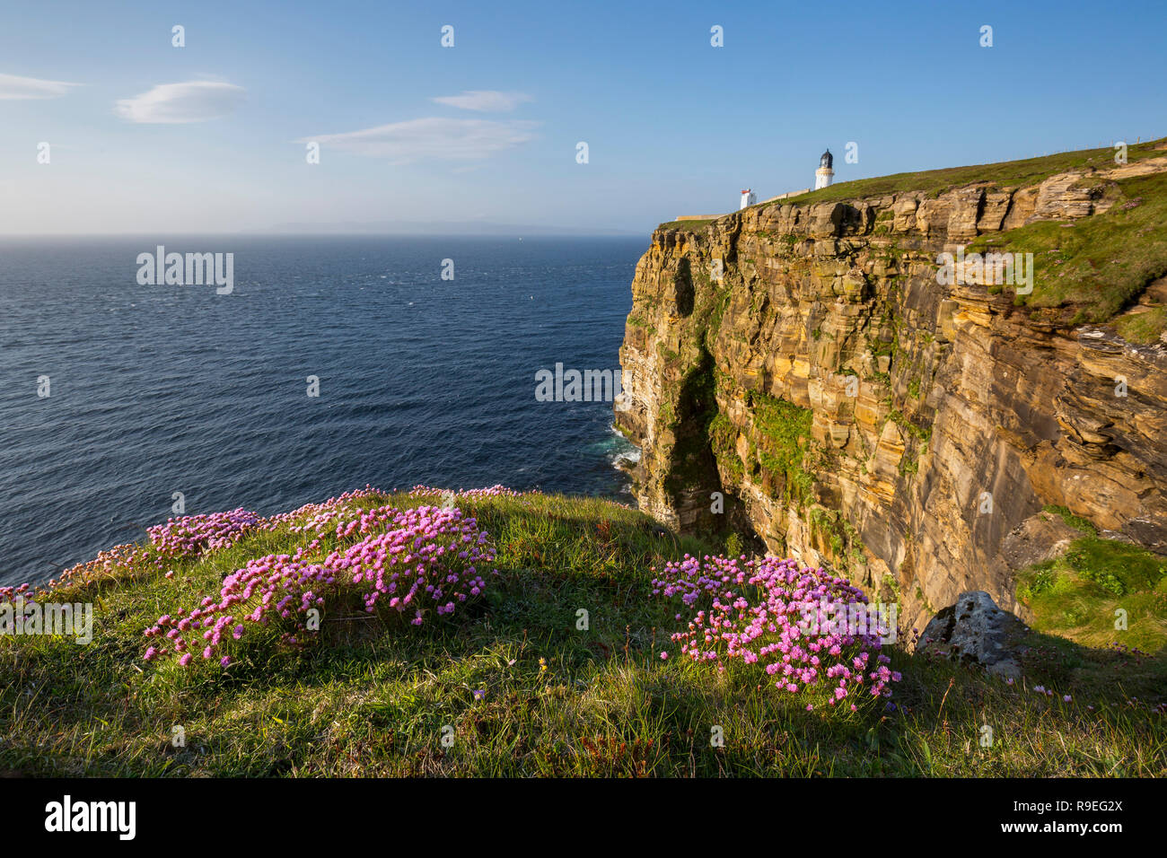 Dunnet Head; Caithness; Scotland; UK - Stock Image