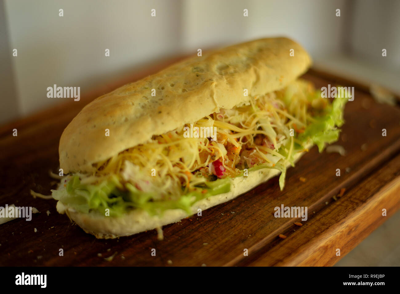 food shooter - Stock Image