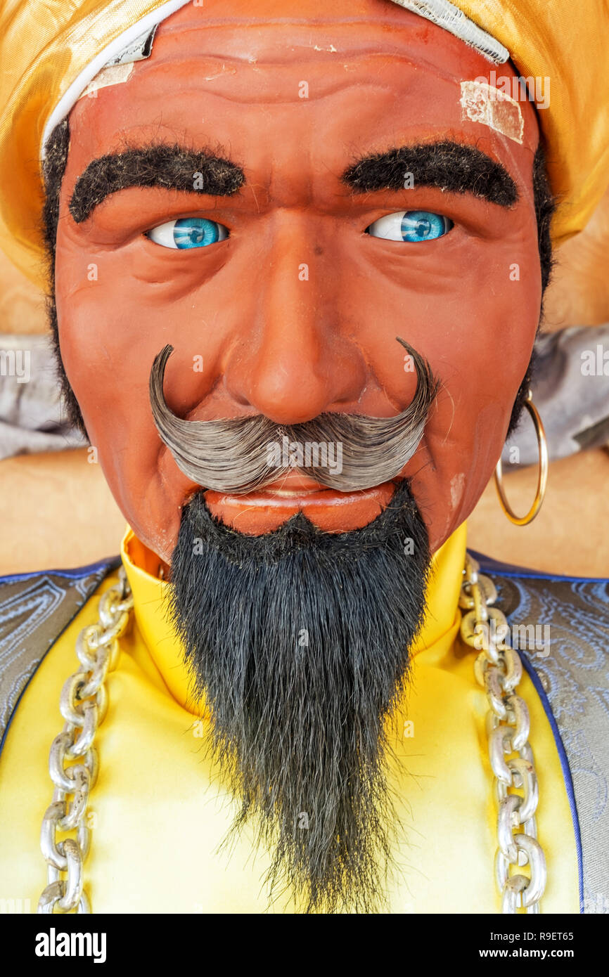 Zoltar amusement arcade novelty which tells your future - Stock Image
