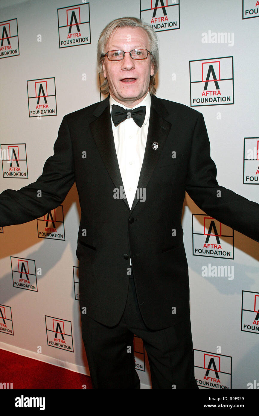 NEW YORK - FEBRUARY 22:  Radio personality Jim Kerr attends the 2010 AFTRA AMEE Awards at The Grand Ballroom at The Plaza Hotel on February 22, 2010 in New York, New York.  (Photo by Steve Mack/S.D. Mack Pictures) - Stock Image