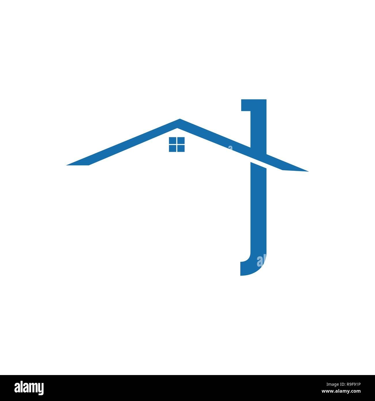 Realty logo design vector concept and idea. Real Estate vector logo design template. House abstract icon. Home Construction architecture symbol. Stock Vector