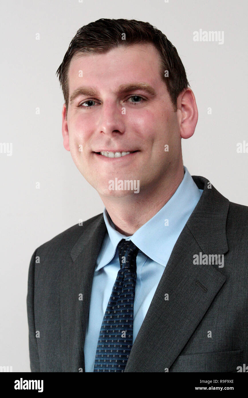 BROOKLYN - April 17: Ed Braunstein, Candidate for New York State Assembly.  (Photo by Steve Mack/S.D. Mack Pictures) - Stock Image