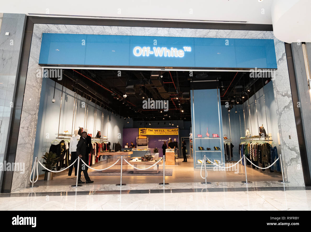 e56cb693d09b Off White boutique at Dubai Mall Fashion Avenue