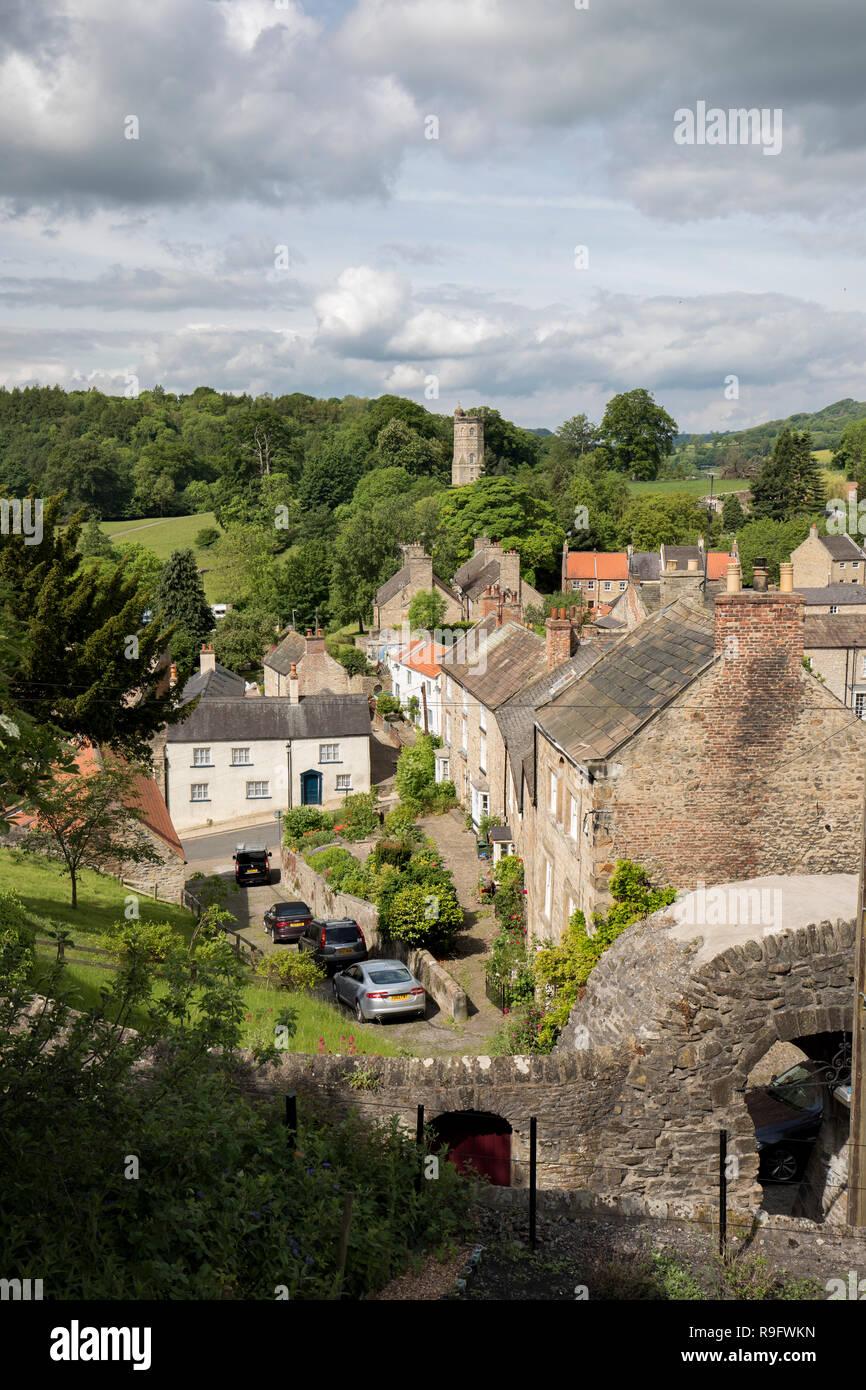 Richmond; Yorkshire; UK - Stock Image
