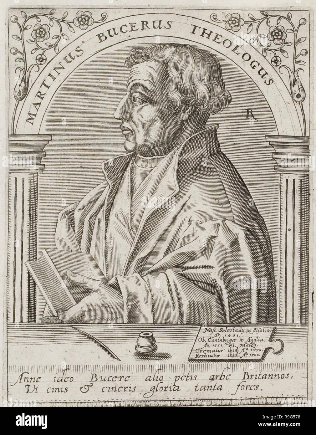 Martin Bucer, circa 1560 - Stock Image