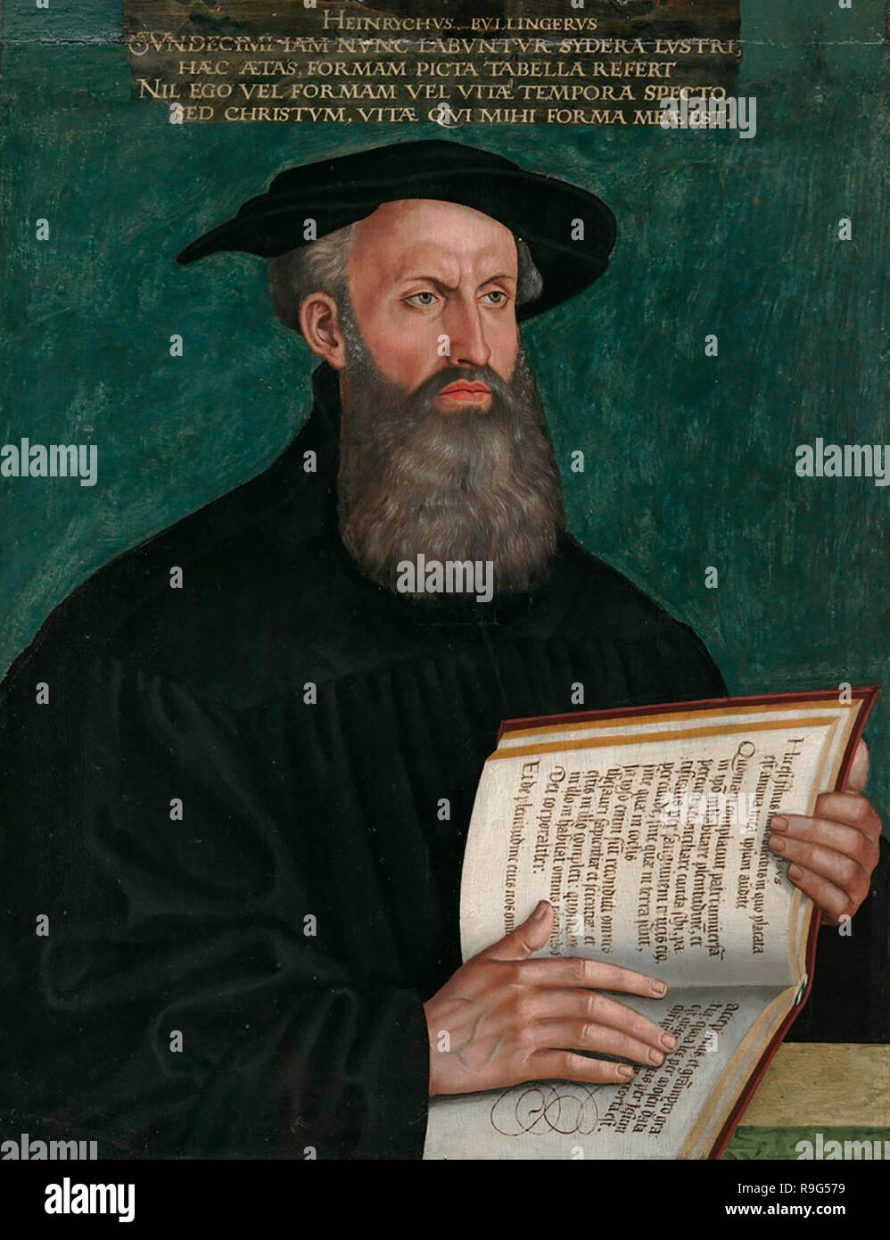 Heinrich Bullinger - Hans Asper, circa 1550 - Stock Image