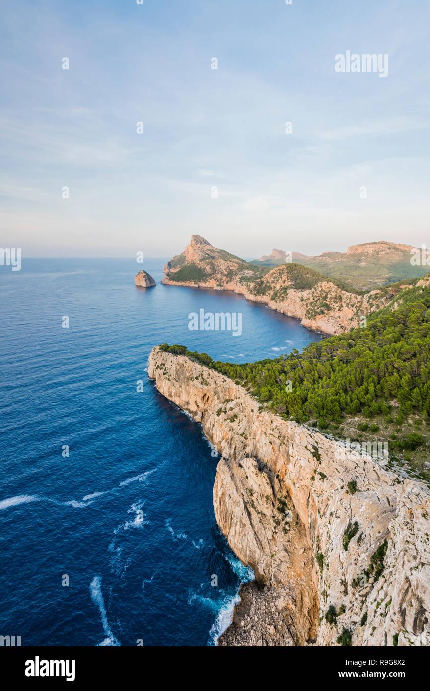 Mallorca Aussichtspunkt Es Colomer, Majorca Viewpoint Es Colomer - Stock Image