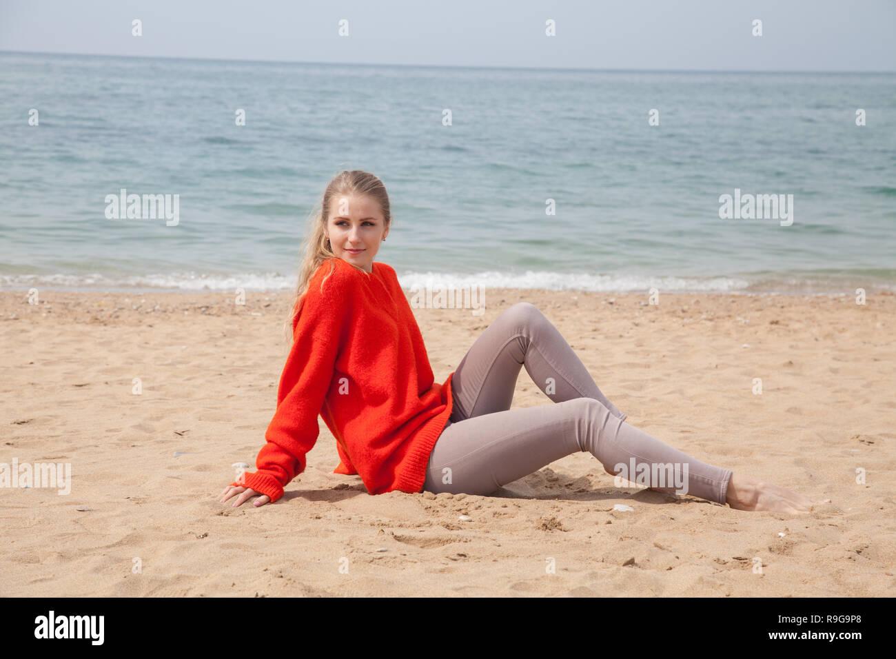 10aa6aa711a2 Young Woman In Bikini Jeans Stock Photos   Young Woman In Bikini ...