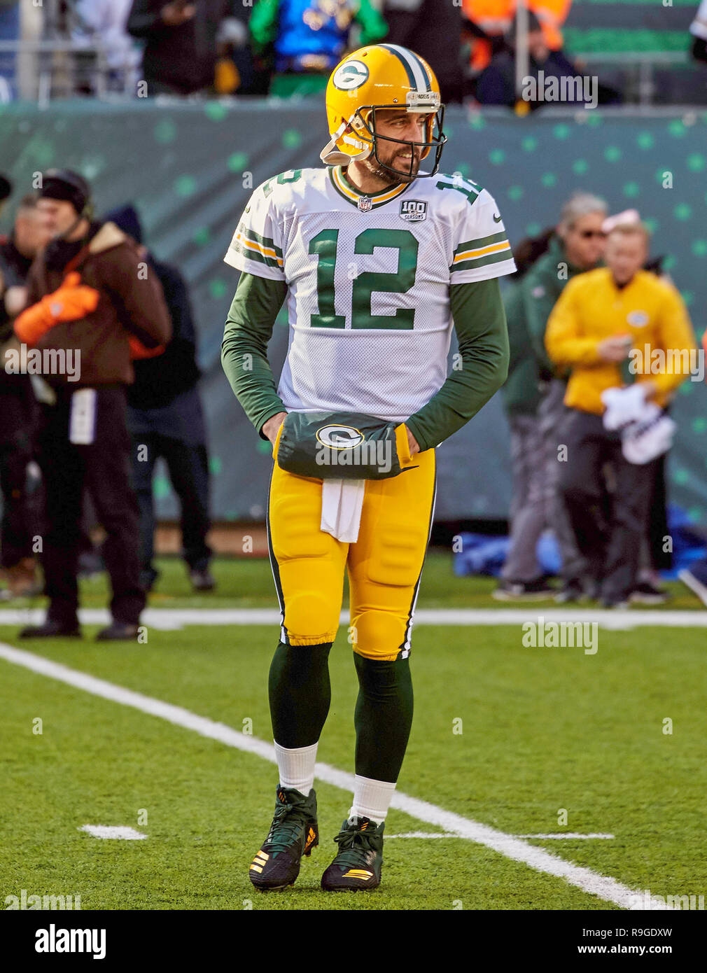 East Rutherford, New Jersey, USA. 23rd Dec, 2018. Green Bay Packers