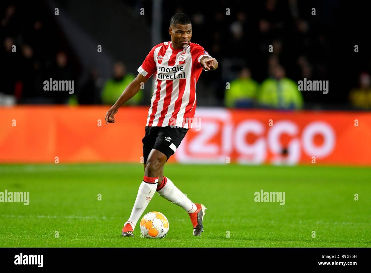 22-12-2018 FOOTBALL: PREMIER DIVISON: PSV-AZ: EINDHOVEN VOETBAL: EREDIVISIE: Denzel Dumfries (PSV) Photo: Sander Chamid/AFLO - Stock Image