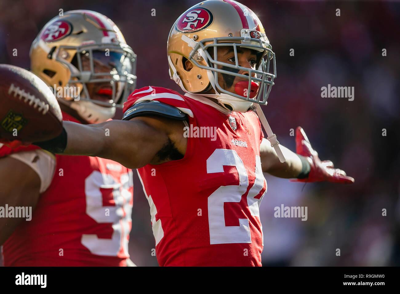 sports shoes 22a6b 69985 December 23, 2018: San Francisco 49ers defensive back K'Waun ...