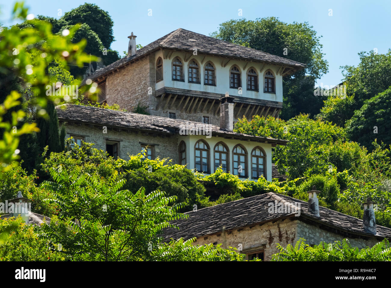 Gavrakanpetanovic house, Pocitelj, Bosnia and Herzegovina - Stock Image