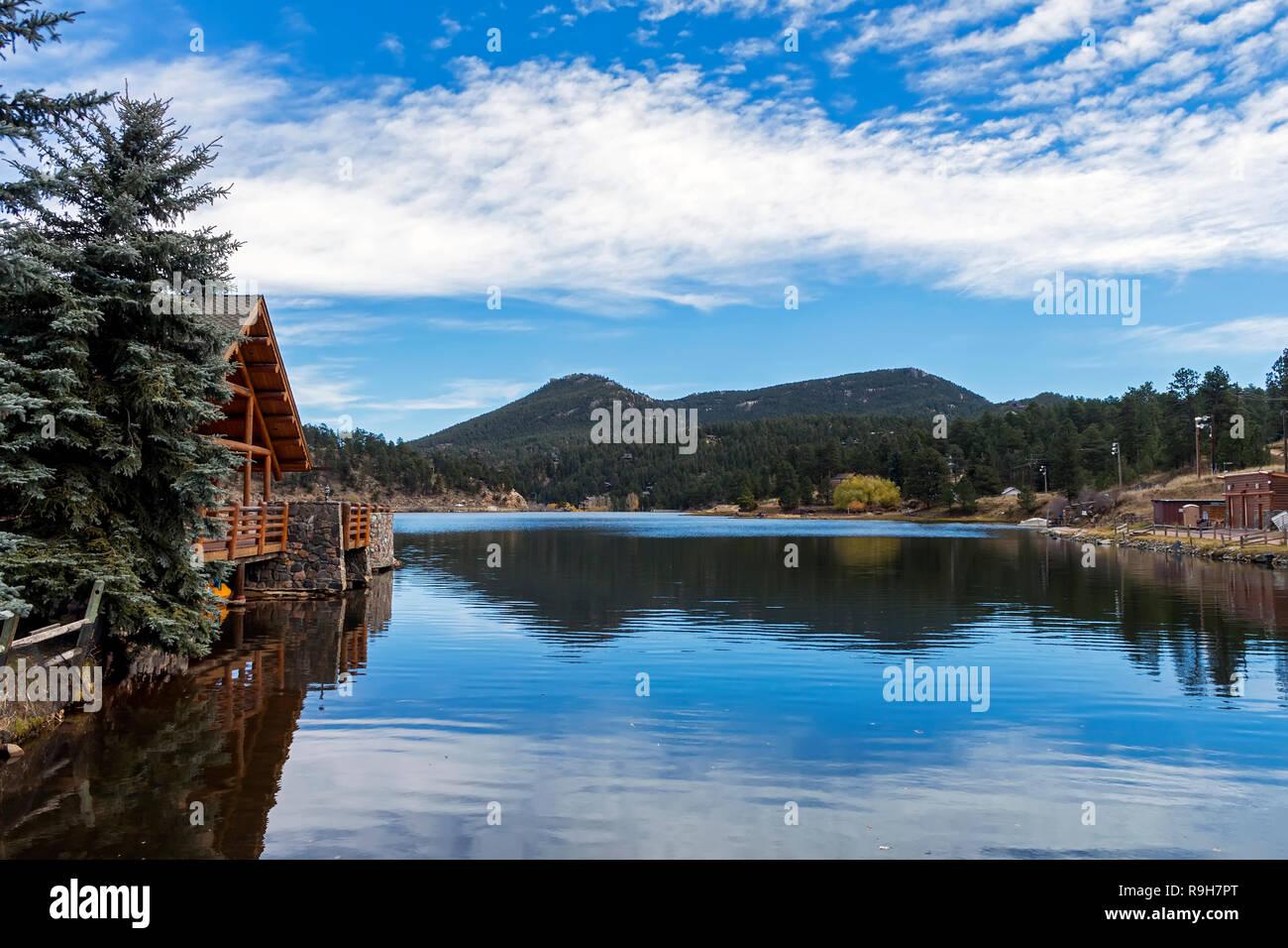 Landscape in Colorado. - Stock Image