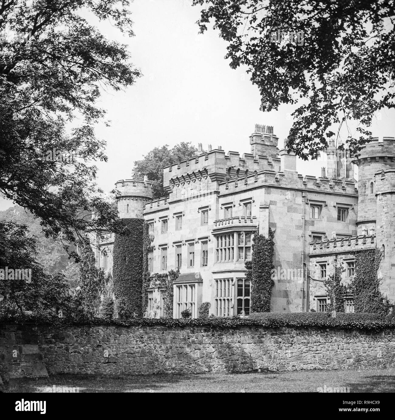 An Early Twentieth Century Photograph Of Hawarden Castle And House In Flintshire Wales It Was The Estate Of The Former British Prime Minister William