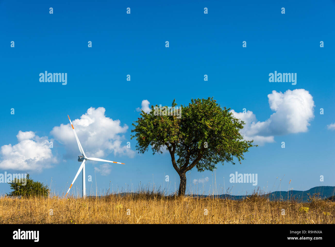 countryside landscapes in val d'agri, basilicata Stock Photo