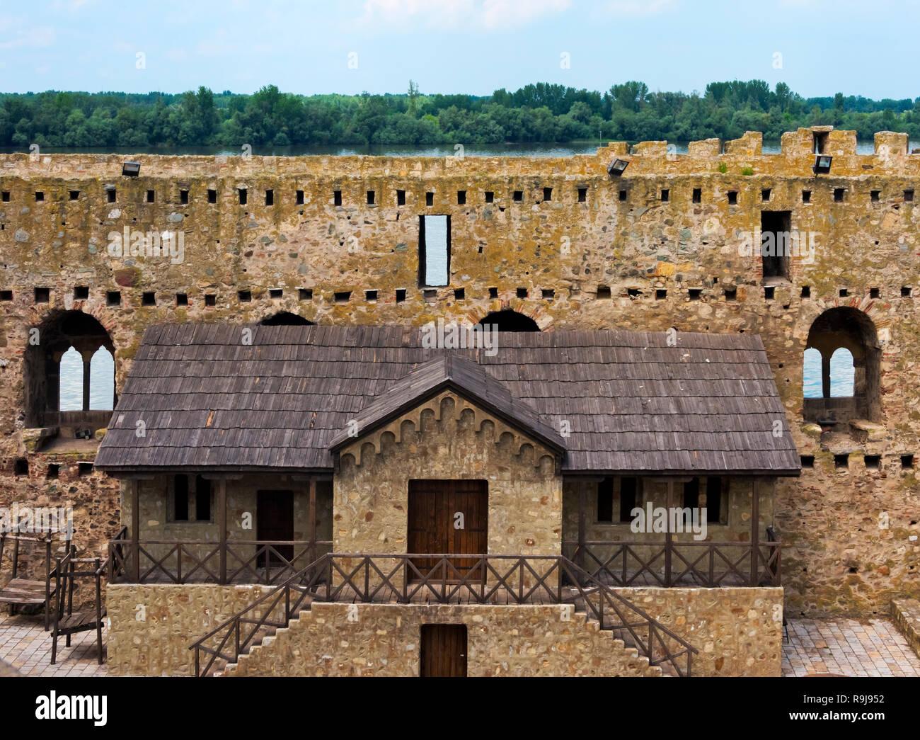 Smederevo Fortress, Serbia - Stock Image