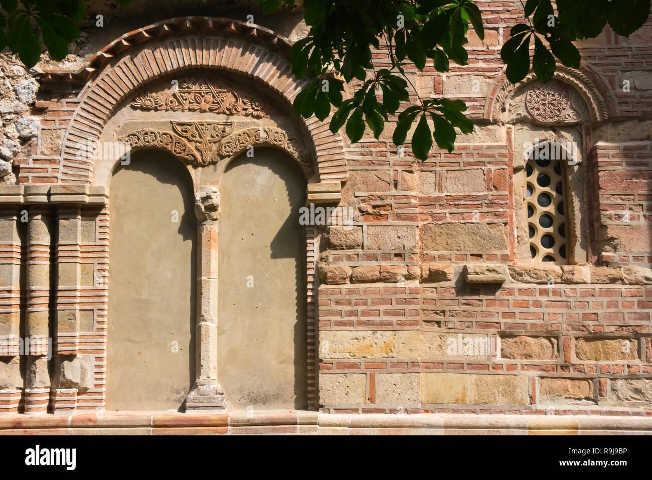 Monastery Ravanica, a Serbian Orthodox monastery, Cuprija, Serbia - Stock Image