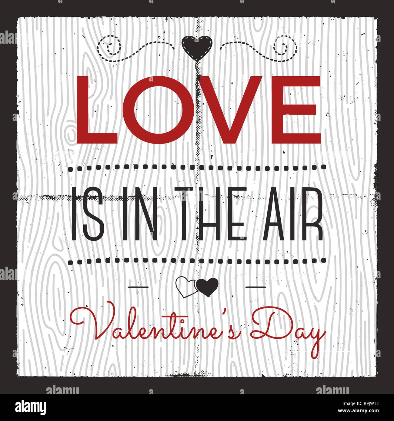 C Stock Quote: Happy Valentines Day Card. Love Graphics Banner And