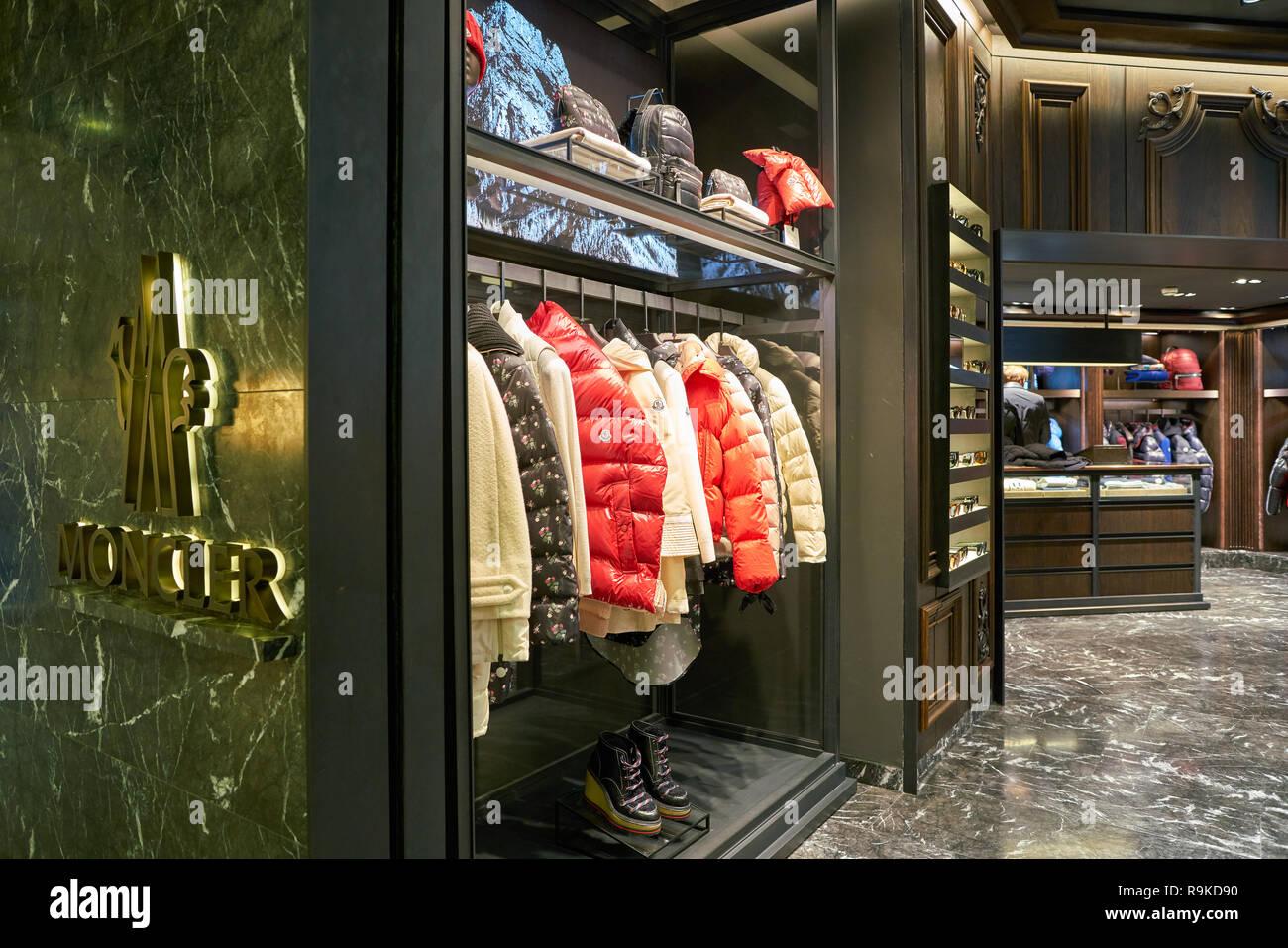 5a8b5b79e Moncler Shop Stock Photos   Moncler Shop Stock Images - Alamy
