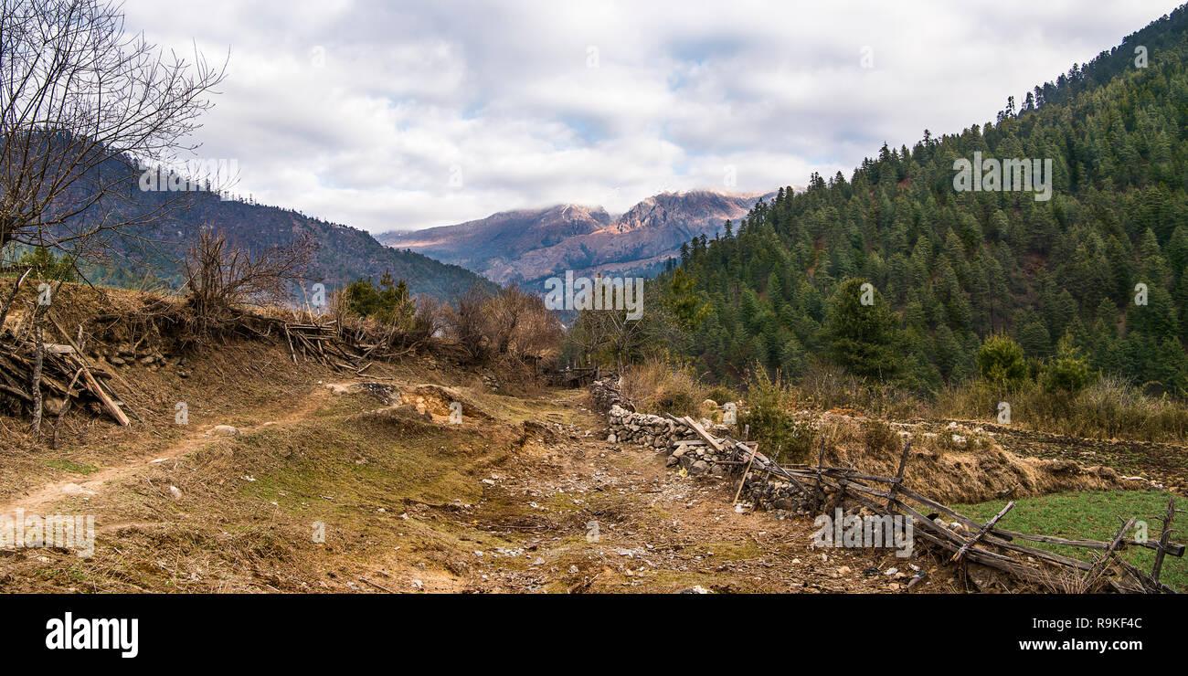 Haa, Bhutan - Stock Image