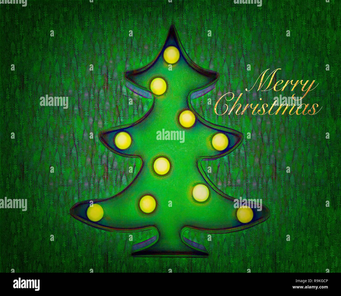 CHRISTMAS CONCEPT: Merry Christmas - Stock Image