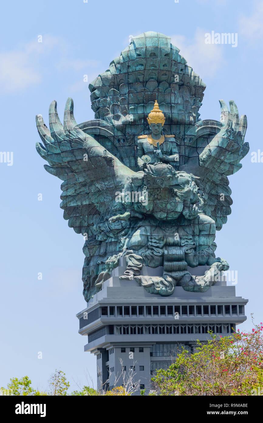 Bali Indonesia 10 Oct 2018 Garuda Wisnu Kencana Statue 121