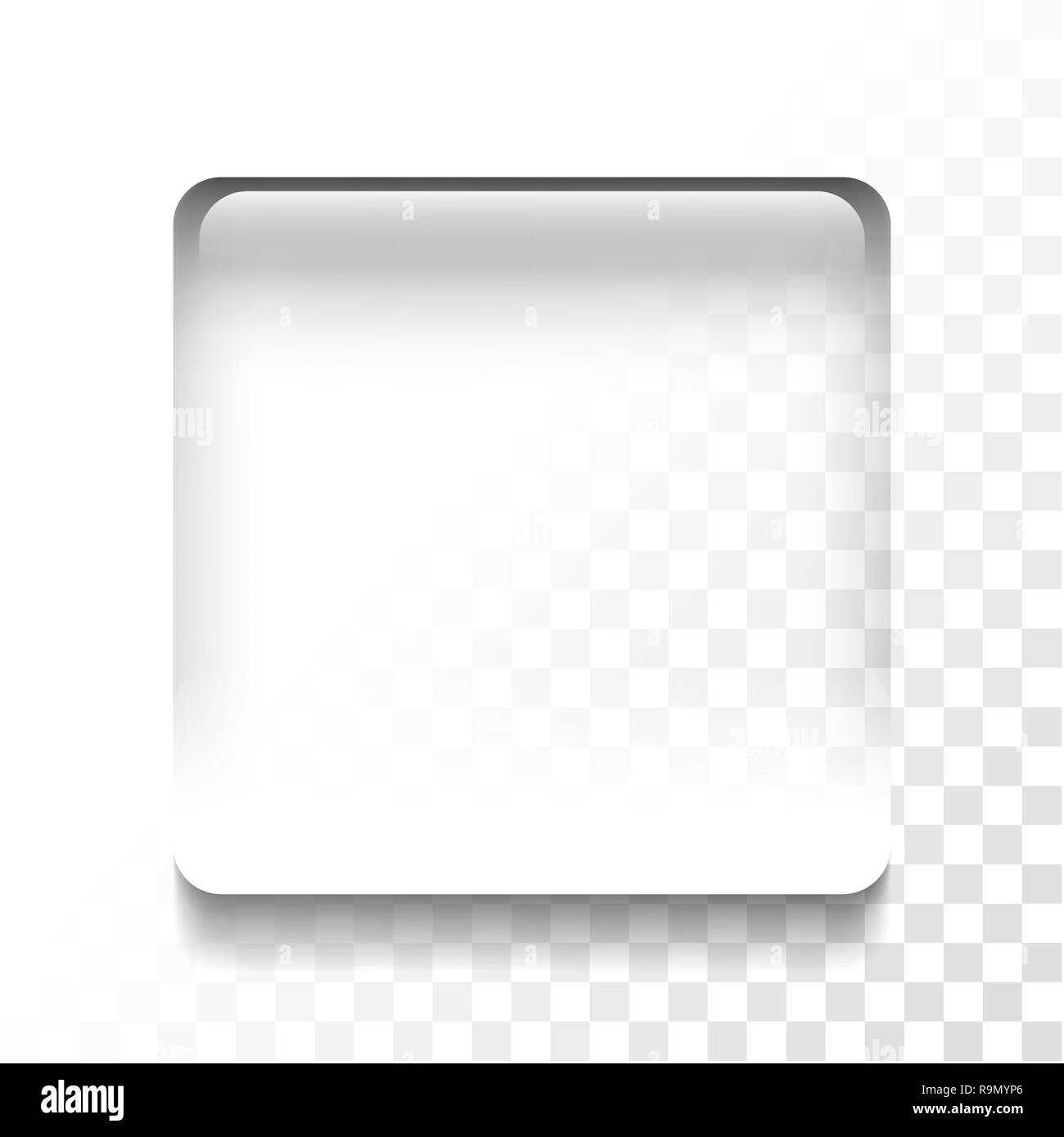 Transparent isolated stop symbol icon, vector illustration