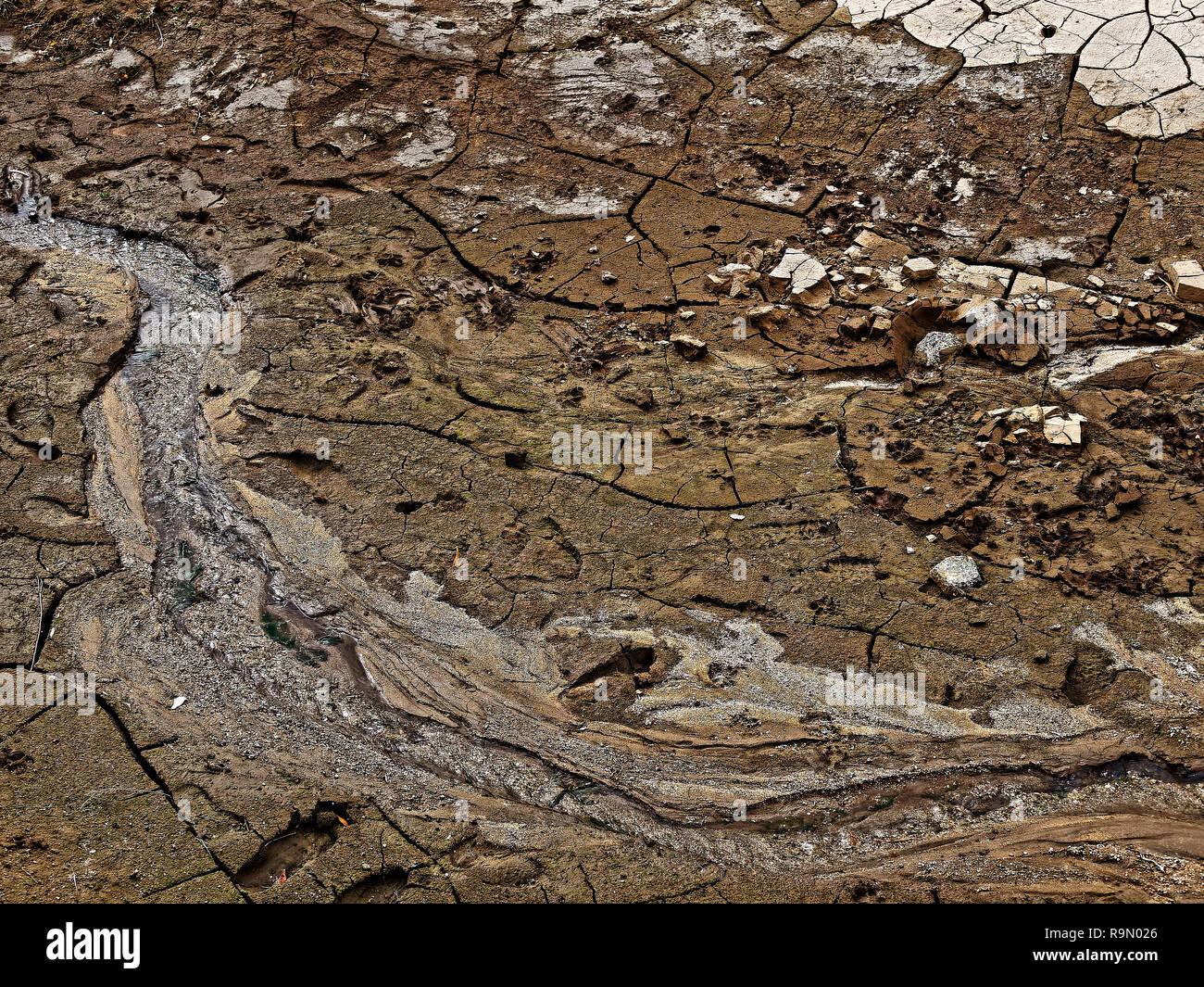 Badger Springs Wash Trail Arizona Stock Photo
