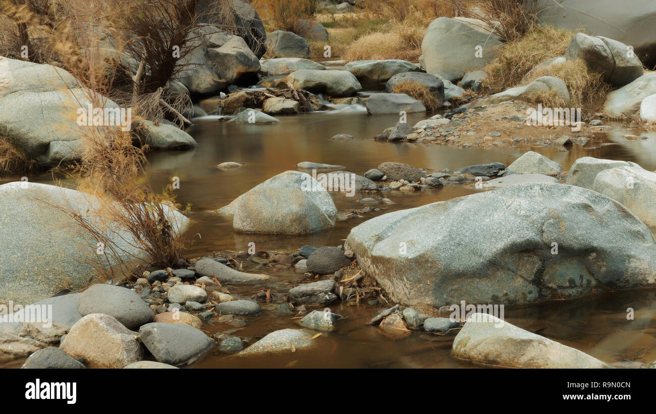 Badger Springs Wash Trail Arizona - Stock Image