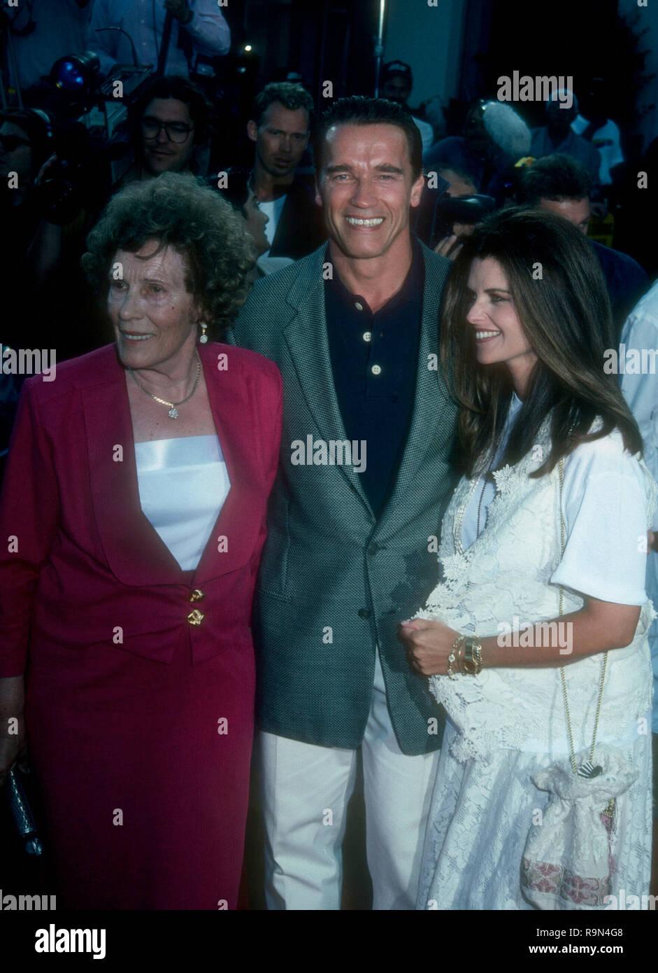 Arnold Schwarzenegger And Son Stock Photos & Arnold Schwarzenegger