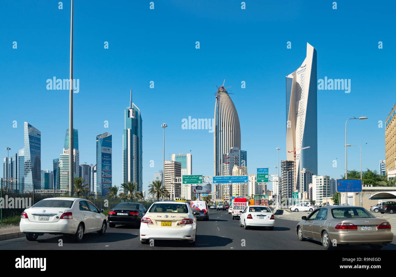 Transport Kuwait City Stock Photos & Transport Kuwait City Stock