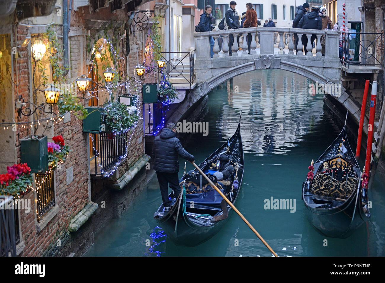 Venice At Christmas 2021 Venice Italy December 26 Christmas Atmosphere In Venice Stock Photo Alamy